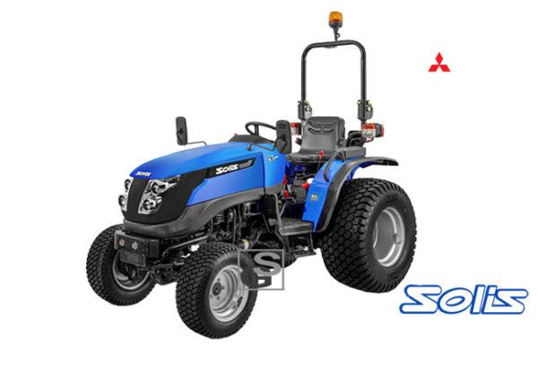 SOLIS 26 De krachtige en wendbare 24PK tractor van Solis