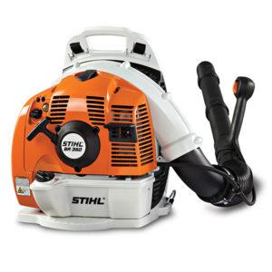 STIHL BR 350 Robuuste professionele ruggedragen benzine bladblazer