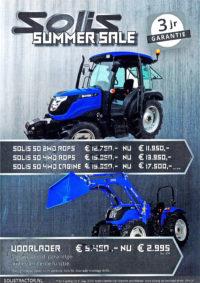 SOLIS 50 pk Trekker Summer Sale