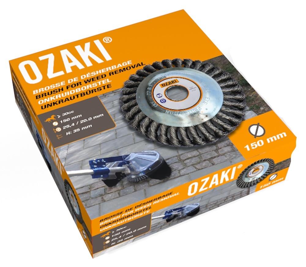 Ozaki Onkruidborstel voor Bosmaaier 150 mm