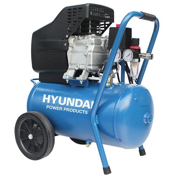 Hyundai 24 Liter Compressor 8 Bar – Directe Aandrijving 2 PK